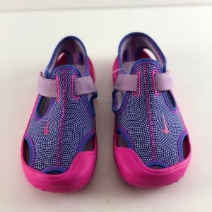 8c5df570123f Nike Shoes - Nike Sunray Protect PS Hydrangeas Fire Pink